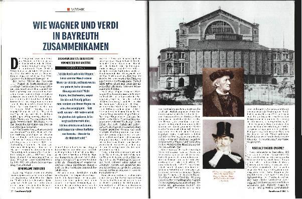 Wie Wagner und Verdi in Bayreuth zusammenkamen