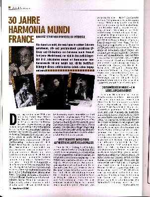30 Jahre Harmonia Mundi France