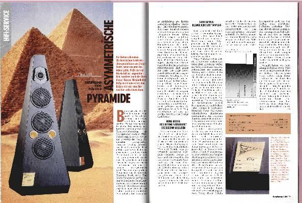 Asymetrische Pyramide