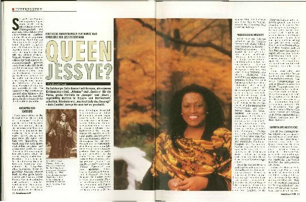 Queen Jessye?