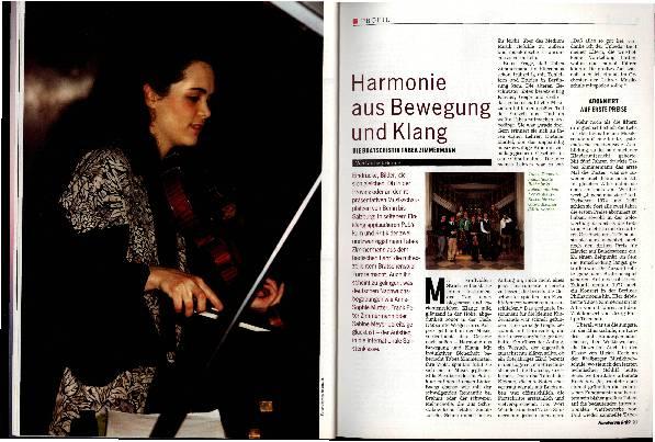 Harmonie aus Bewegung und Klang