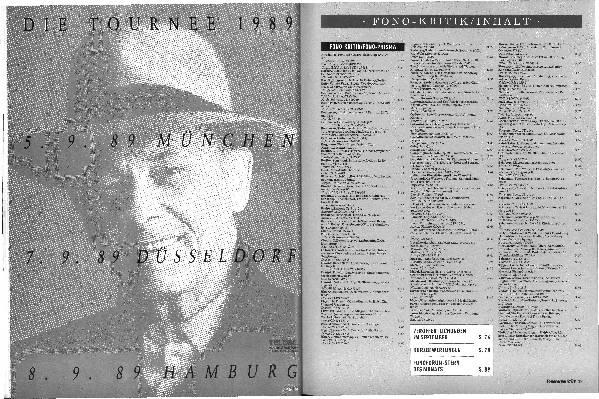 Inhalt 09/89