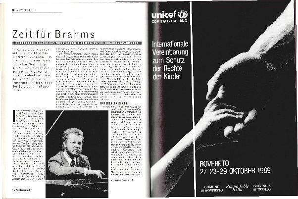 Zeit für Brahms