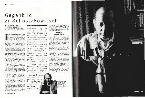 Gegenbild zu Schostakowitsch