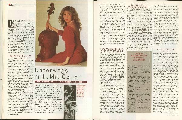 Unterwegs mit Mr. Cello