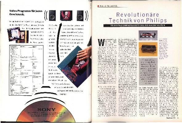 Revolutionäre Technik von Philips