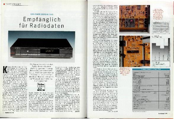 Empfänglich für Radiodaten