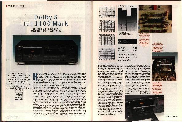 Dolby S füe 1100 Mark