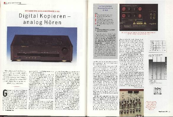 Digital Kopieren - analog Hören
