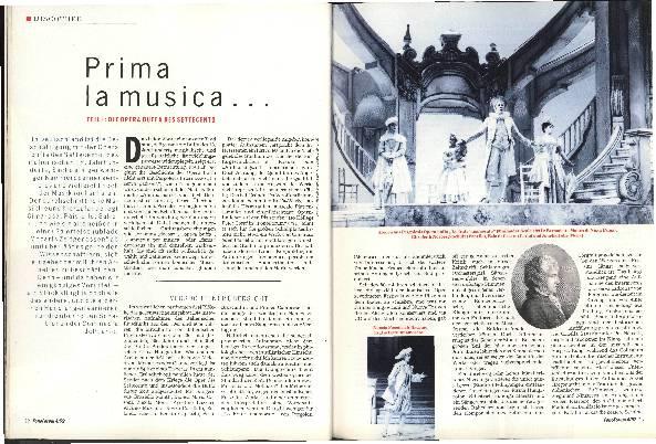 Prima la musica...