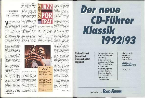 John Coltrane - die Seele des Saxophons
