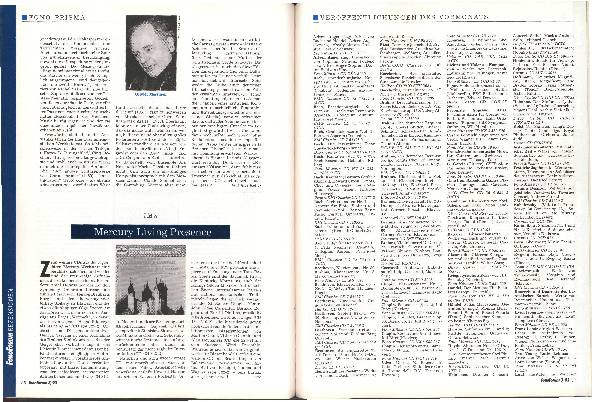 Veröffentlichungen des Vormonats