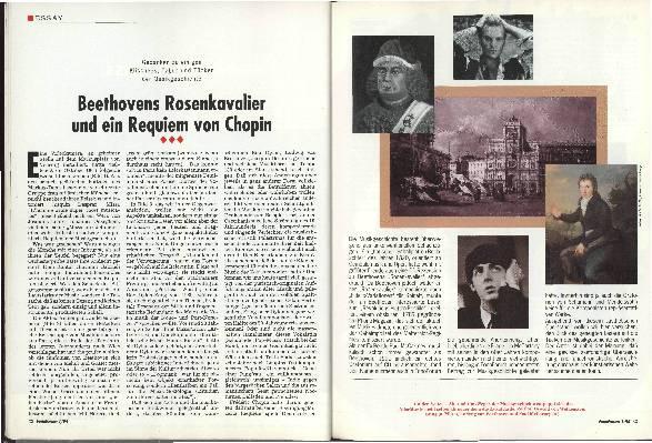 Beethovens Rosenkavalier und ein Requiem von Chopin