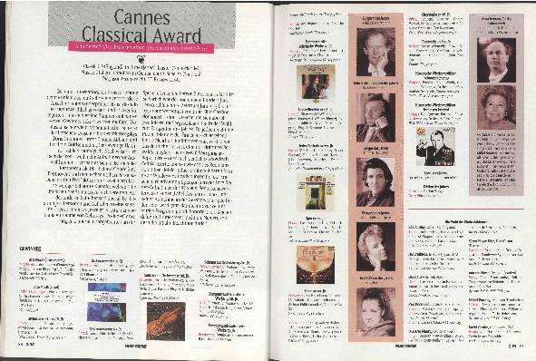 Cannes Classical Award