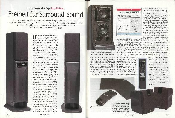 Freiheit für Surround-Sound