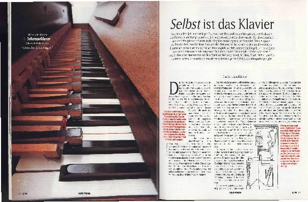Selbst ist das Klavier