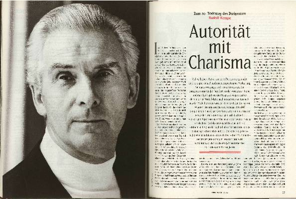 Autorität mit Charisma