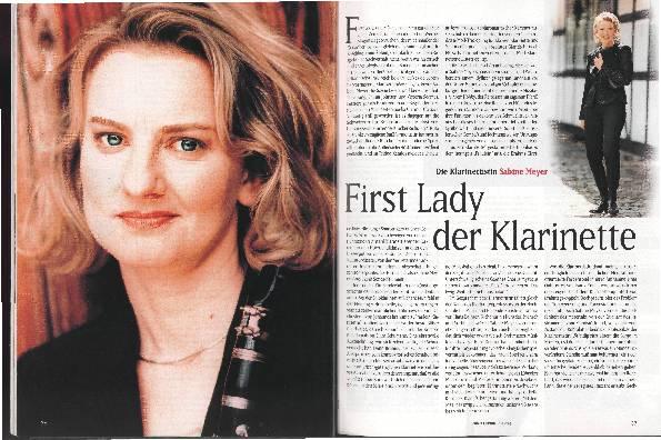 First Lady der Klarinette