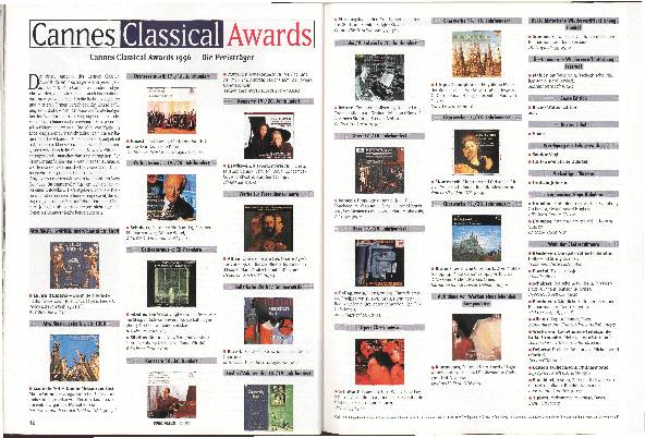 Cannes Classical Awards