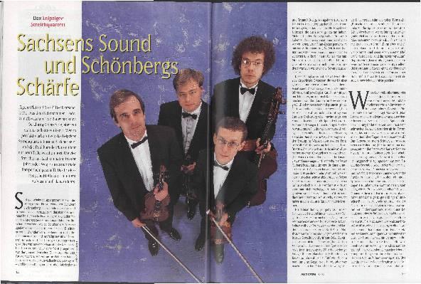 Sachsens Sound und Schönbergs Schärfe