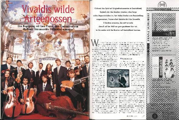 Vivaldis wilde Artgenossen