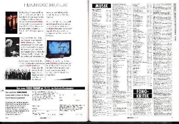 Jahres-Inhaltsverzeichnis 1997
