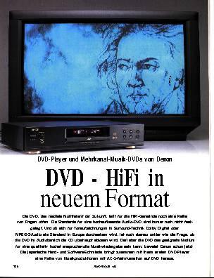 DVD - HiFi in neuem Format