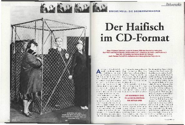 Der Haifisch im CD-Format