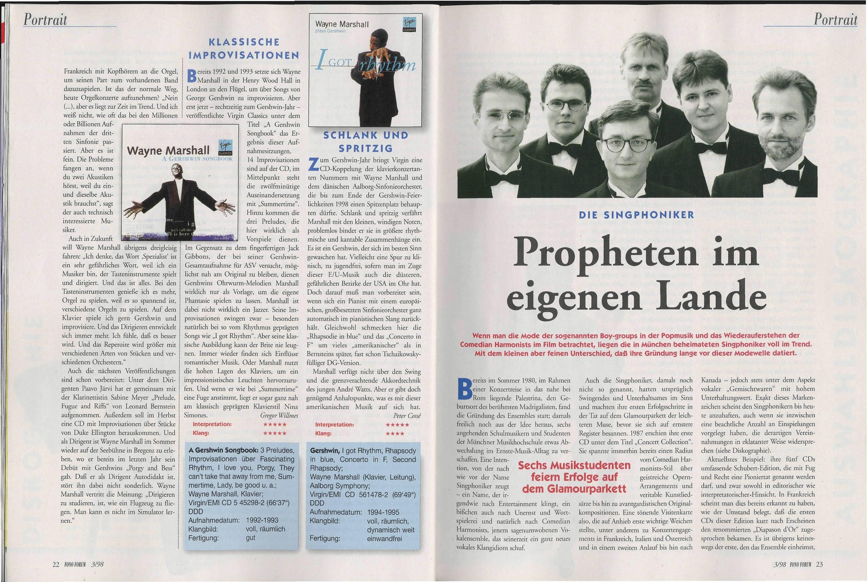 Propheten im eigenen Lande