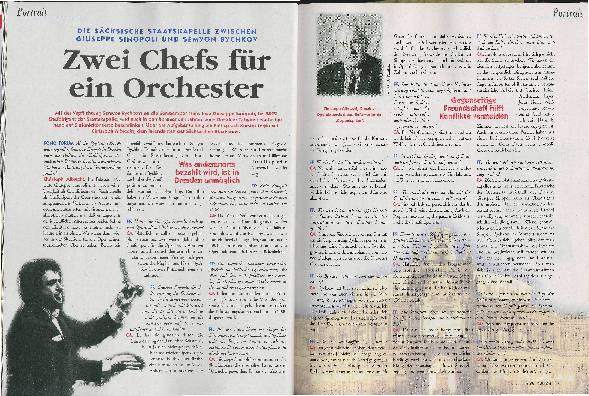 Zwei Chefs für ein Orchester