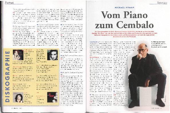 Vom Piano zum Cembalo