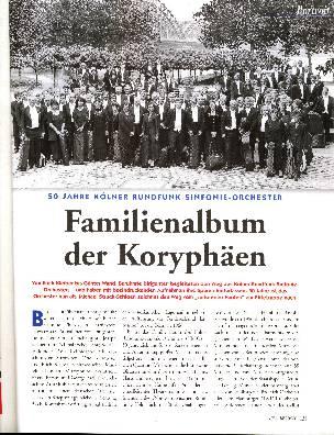 Familienalbum der Koryphäen