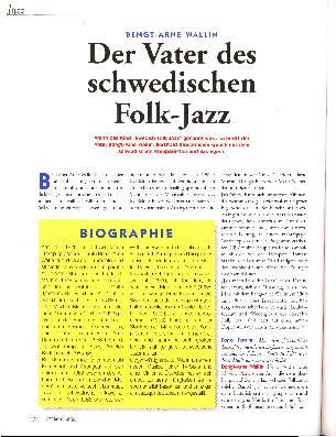 Der Vater des schwedischen Folk-Jazz
