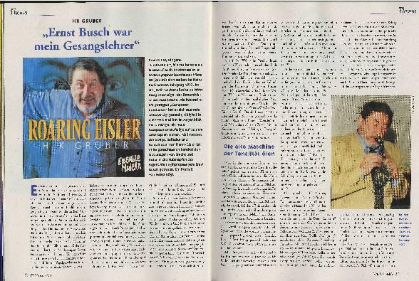 """""""Ernst Busch war mein Gesangslehrer"""""""