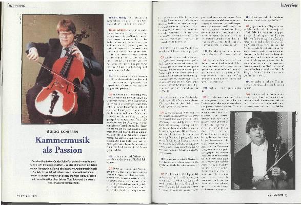 Kammermusik als Passion