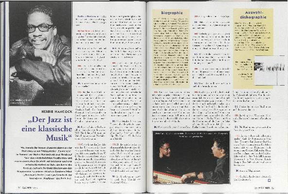 Der Jazz ist eine klassische Musik
