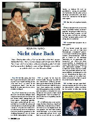 Nicht ohne Bach