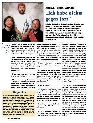Ich habe nichts gegen Jazz