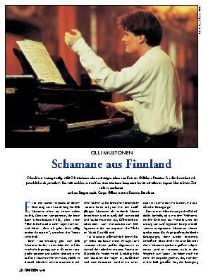 Schamane aus Finnland