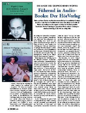 Führend in Audio-Books: Der HörVerlag