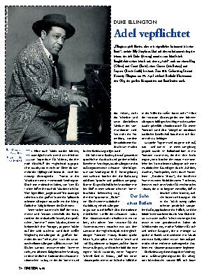 Duke Ellington Adel verpflichtet
