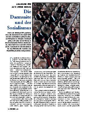 Die Darmsaite und der Sozialismus