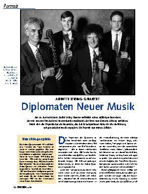 Diplomaten Neuer Musik