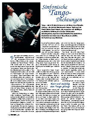 Sinfonische Tango-Dichtungen