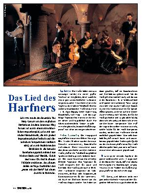 Das Lied des Harfners