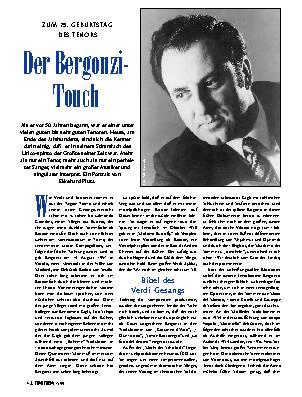 Der Bergonzi-Touch