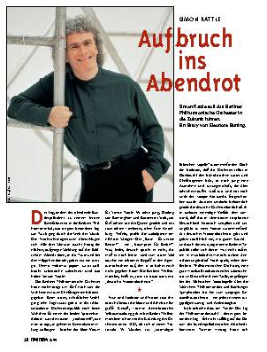 Aufbruch ins Abendrot