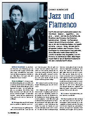Jazz und Flamenco