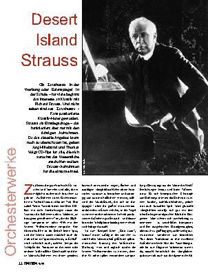 Desert Island Strauss