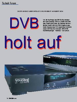 DVB holt auf